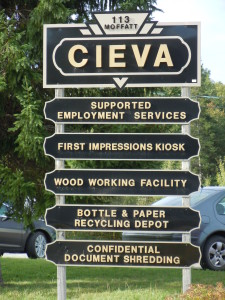 CIEVA Sign